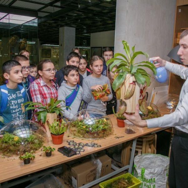16 февраля FLOWERRR в Биологическом музее им. Тимирязева , на Биологическая игре-квесте «Семейный лабиринт» – 27 сезон